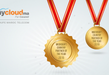 "MYCLOUD.MA Et de deux pour le ""Country Partner of the Year"""