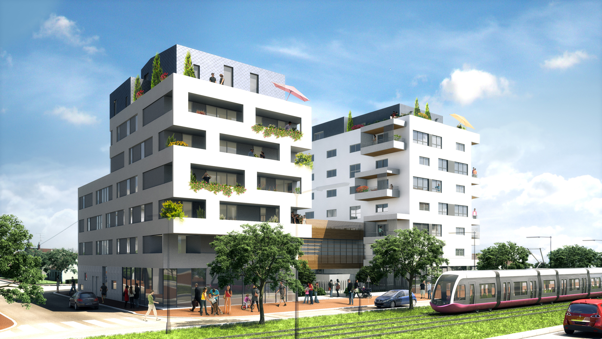 IMMOBILIER - Perspectives med